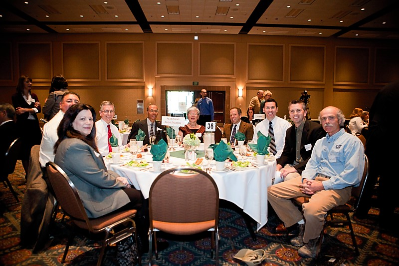 Some of the John William Jackson Fund Team at the ICF Luncheon
